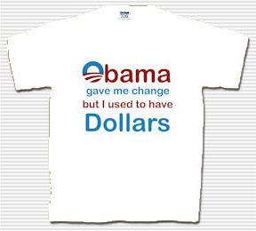 obama gave me change graphic