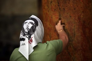 "Che Guevara and Jesus Christ--""birds of a feather"", according to some Chirstian Pilgrims to to the Holy-Land"