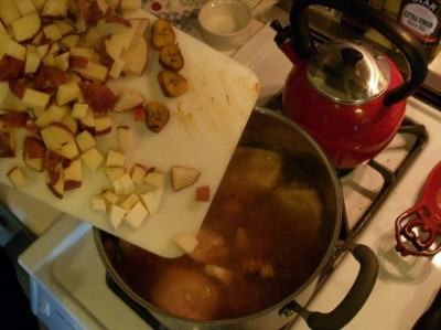veg into sopa