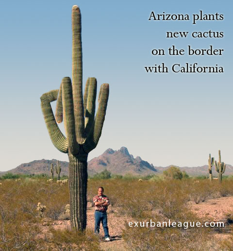 A message from the fine law-abiding folks in Arizona to California