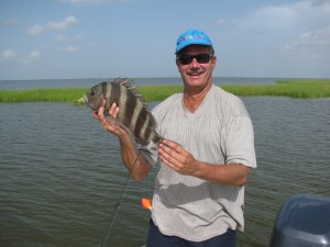 (7/29/10)--Look at all the black on this fish!!! Must be OIL! AHHH!!!!