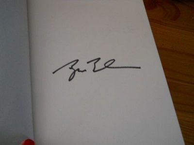 Bush autograph