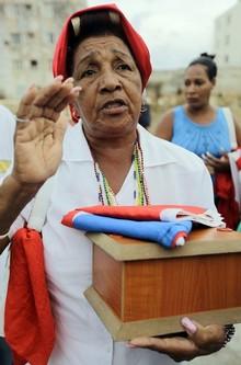 CUBA-DISSIDENT/EXHUMATION