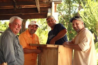 Mike Russo, Jorge Carmona, Val Prieto, Joey Lay