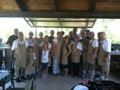 Team Cubanaso. Cooking With the Troops