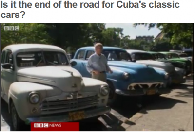 Stop the presses! Cuban cabs are old!