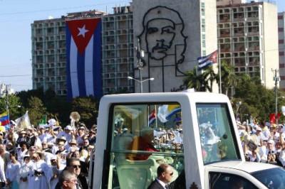 APTOPIX Cuba Pope_admi