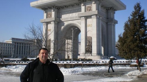 The Happy Communist Spanish Businessman in North Korea