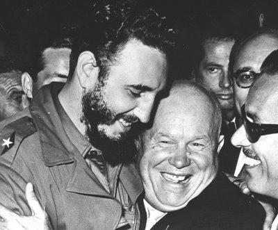 Fidel-Castro-with-Kruschev