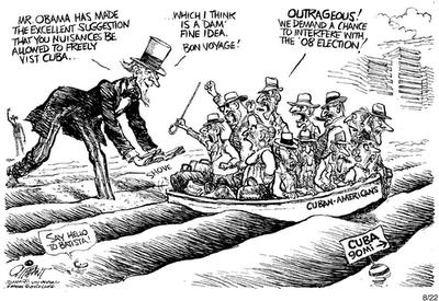 Oliphant on Cuba