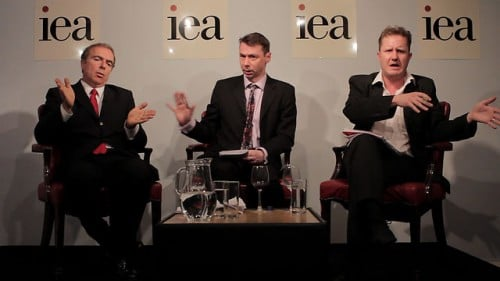 Peter Hitchens (left) stirs up more trouble