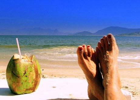 Cuba beach relax