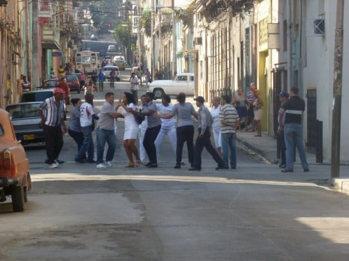 Ladies in White harassed and beaten 21 Jan 2013