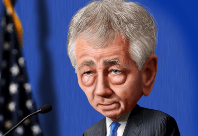 Hagel after confirmation hearing
