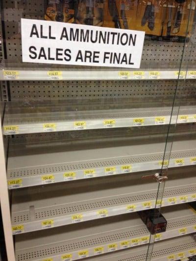 ammo sales