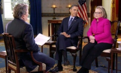president-obama-and-secretary-of-state-hillary-clinton-speak-with-60-minutes-correspondent-steve