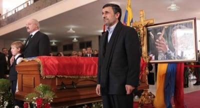 Mahmoud Ahmadinejad, Alexander Lukashenko