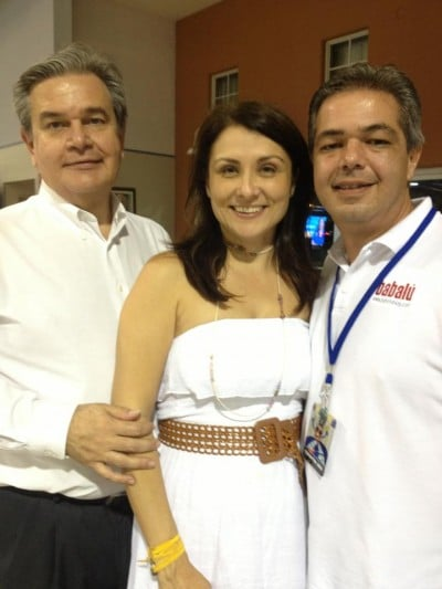 Silvio Canto, Betsy Gonzalez, and Alberto de la Cruz