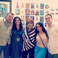 Val, Maggie, Ninoska Perez-Castellon, Grace Sotolongo, and Javier Correoso
