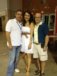 Alberto, Betsy Gonzalez, and Ernie Hernandez