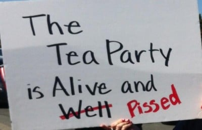 teaparty pissed