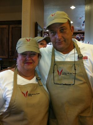 Marta and Val. Cooking With the Troops. 2011.