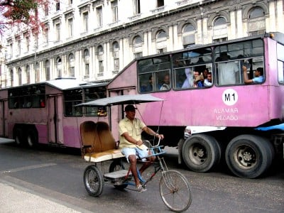 Transportation for Cubans