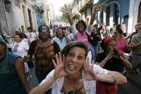 Acto de repudio a las Damas de Blanco en Cuba _3
