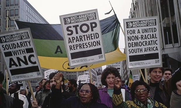 Anti-Apartheid Movement ANC Rally, London