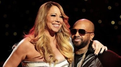 Mariah Carey and her agent Jermaine Dupri