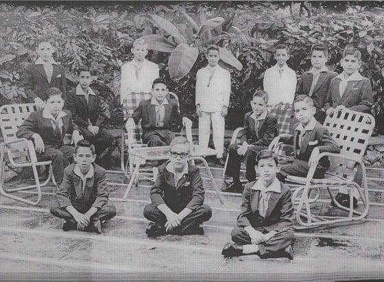 Third-graders, La Salle de Miramar, Havana, 1958