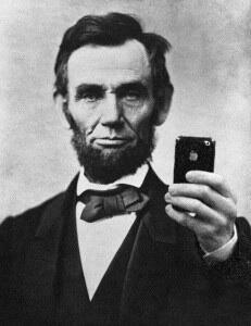 Abe selfie