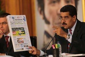 Maduro - Newspaper - 2
