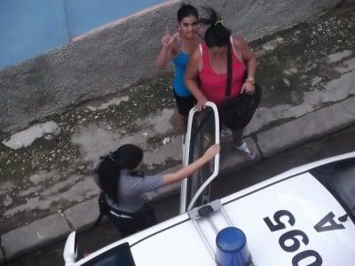 Conducen a Evelyn Pineda, Laudelina Alcalde y Maritza Concepción_resize