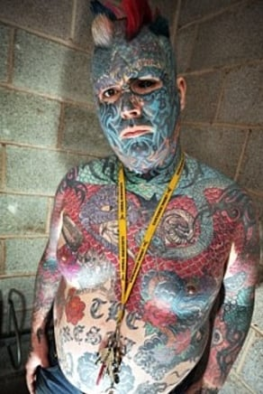 Human Rights Victim Mr. King of Ink Land King Body Art The Extreme Ink-Ite, a.k.a. Body Art