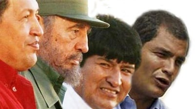 Fidel and the Three Stooges of Latrine America
