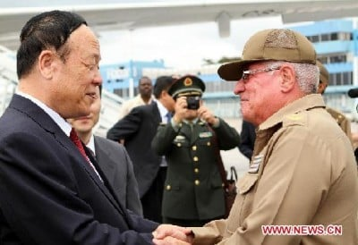 Top Chinese and Castronoid generals meet in  Havana