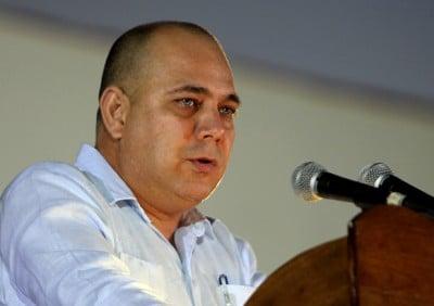 Castrogonia's Health Minister Roberto Tomas Morales Ojeda