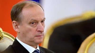 Russian Security Council Secretary Nikolai Patrushev