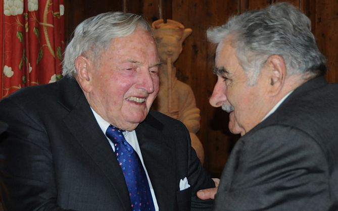 Uruguay-President-Jose-Mujica-with-David-Rockefeller-98-in-NYC-last-week