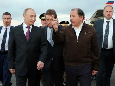 Putin in Nicarrrrragua