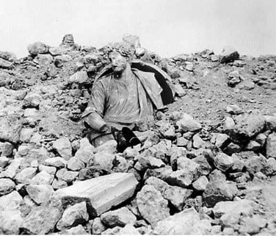 Rubble of Monte Cassino