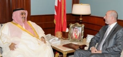 The Castronoid ambassador and the Bahraini Sheikh