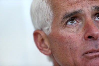 FL Gubernatorial Candidate Charlie Crist Speaks In West Palm Beach