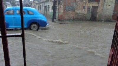 Calles convertidas en río 2