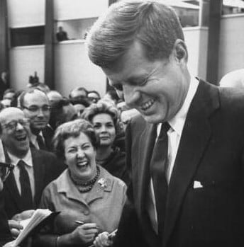 Kennedy-woos-the-press-at-his-first-press-conference-1961-life