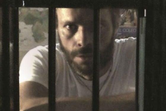 Leopoldo López in his prison cell