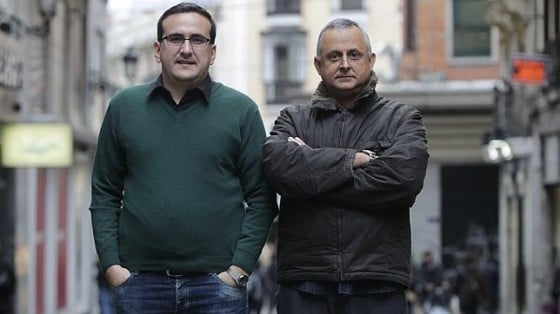 """dissidents"" Veiga and Lenier enjoying a holiday in Madrid"
