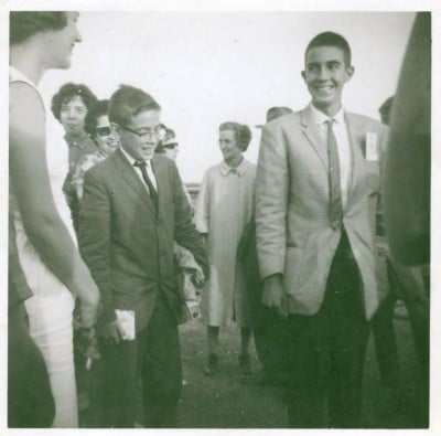Carlos & Tony arrive in Bloomington IL 1963