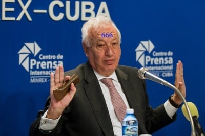 Spanish Foreign Minister Garcia Margallo